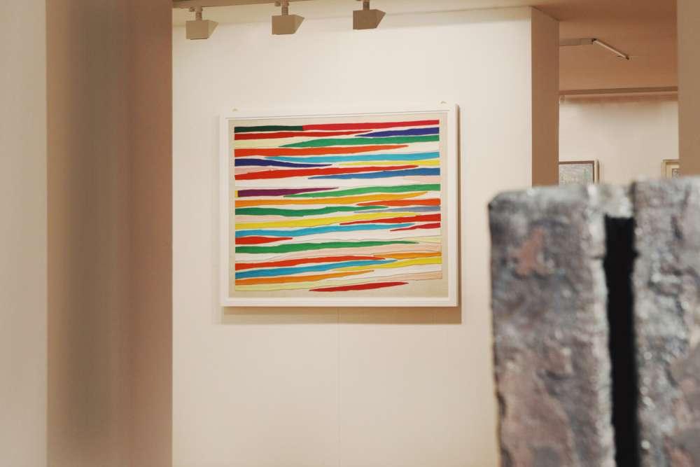 Piero Dorazio, anni '60 Galleria di Ricerche d'Habitat