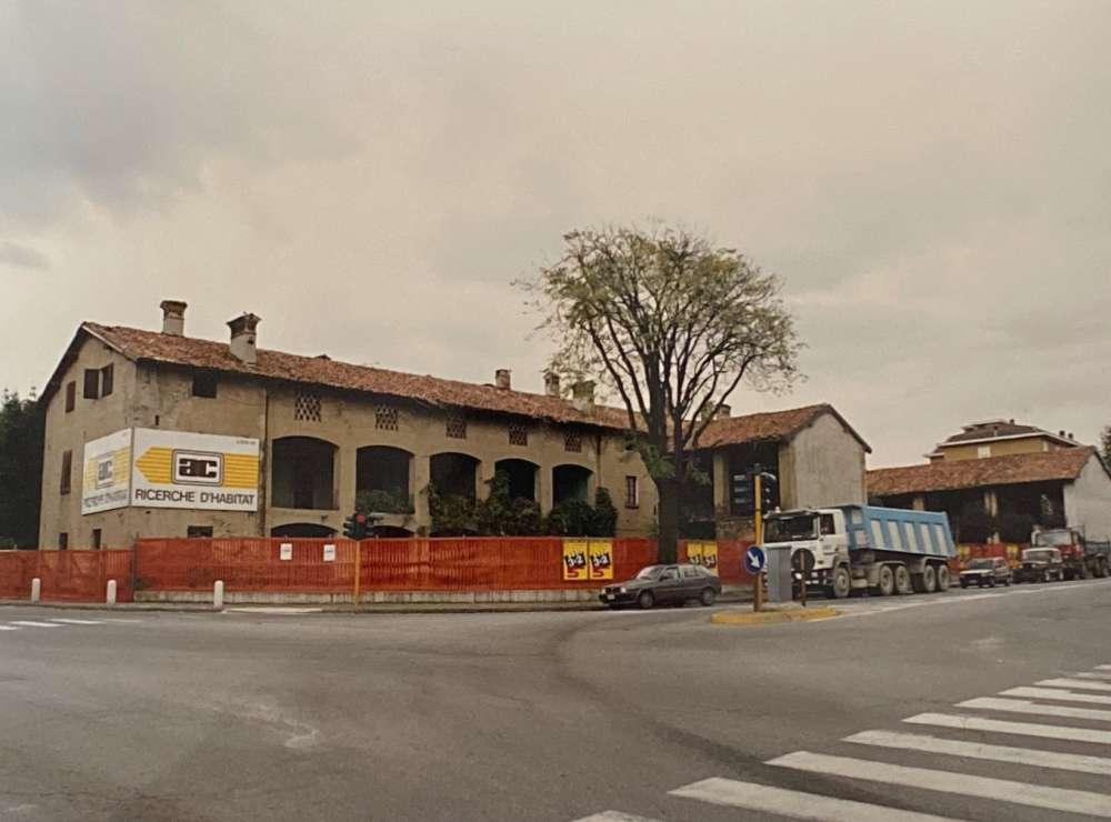 Lavori in corso a Cernusco Lombardone, 1995